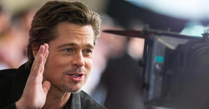 Brad Pitt a Tokyo due anni fa